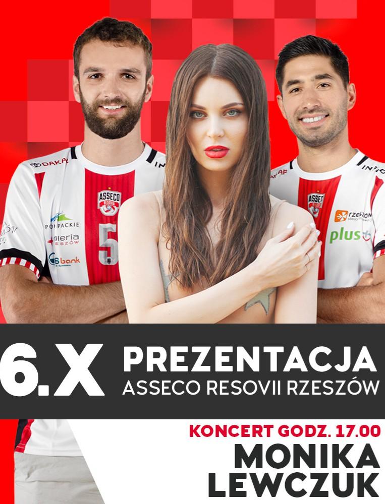 Prezentacja drużyny ASSECO RESOVIA w GALERII RZESZÓW. Zapraszamy!