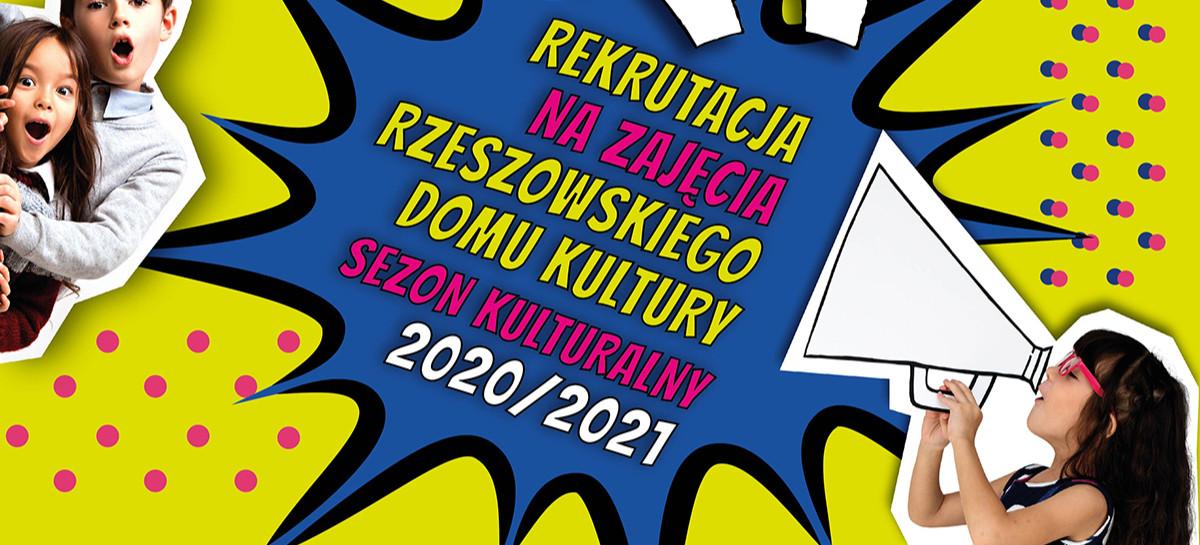 Rzeszowski Dom Kultury prowadzi rekrutację na zajęcia – ponad 40 propozycji
