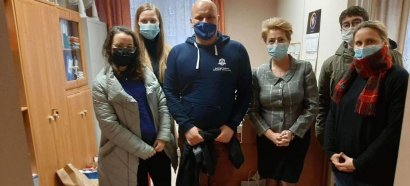 Studenci Politechniki Rzeszowskiej wsparli DPS