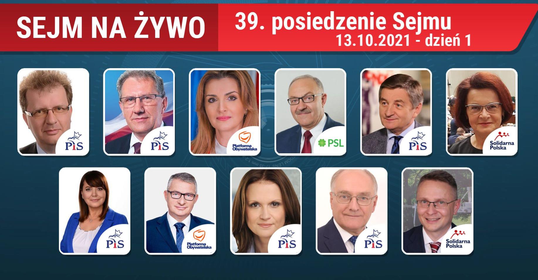 Posiedzenie Sejmu! Oglądaj NA ŻYWO!