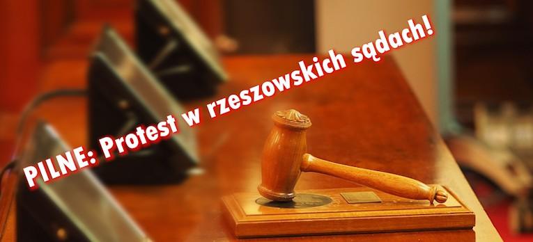 Paraliż rzeszowskich sądów. 153 osoby na zwolnieniach