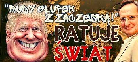 """Wojciech Cejrowski: """"rudy gópek z zaczeską ratuje świat"""""""
