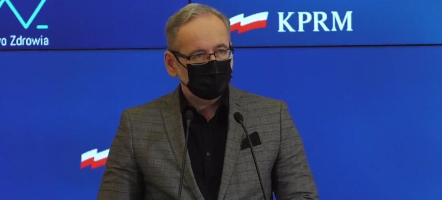 Sobotnia konferencja ministra zdrowia. Aktualna sytuacja epidemiologiczna w kraju (VIDEO)