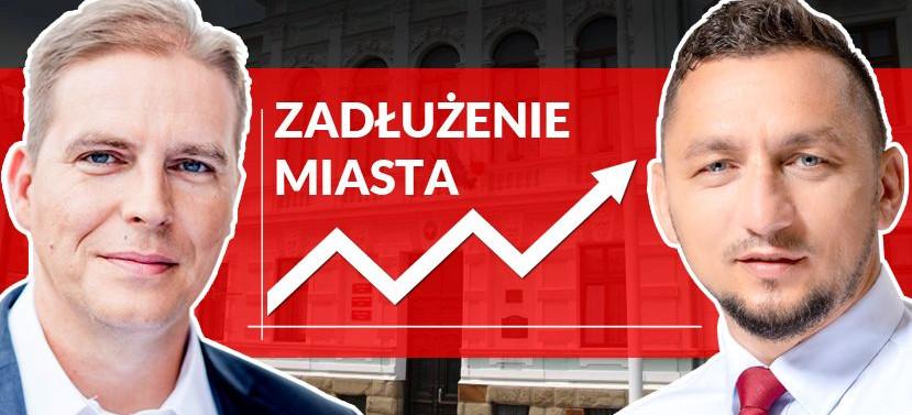 RADNY SŁAWOMIR MIKLICZ: Miasto w ciągu ostatnich dwóch lat zwiększyło zadłużenie o 25 mln zł. Trzeba zatrzymać to szaleństwo!