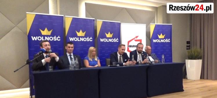 Partia Wolność: Mamy kandydata na prezydenta Rzeszowa, jest to mocny człowiek (FILM)