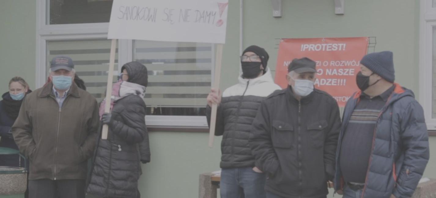 Nie chcą do miasta. Mieszkańcy trzech wiosek stanęli ramię w ramię (VIDEO, ZDJĘCIA)