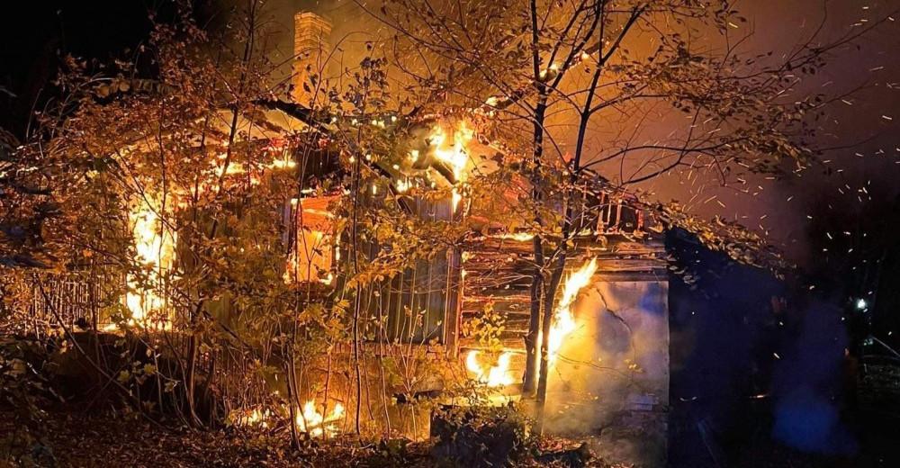 Tragiczny pożar domu. Śmierć mężczyzny (ZDJĘCIA)