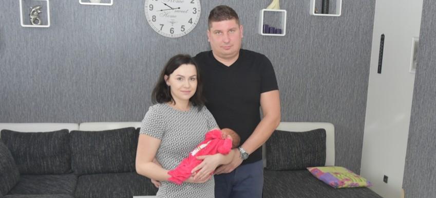 Hania Bodzioch pierwszym obywatelem gminy Brzozów urodzonym w roku 2020
