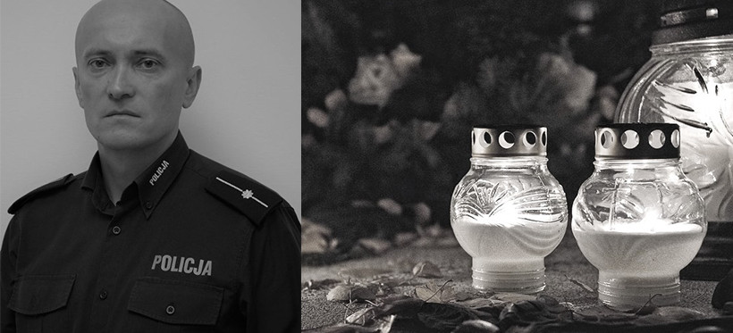 PODKARPACIE. Zmarł policjant Tomasz Czereba. Miał zaledwie 39 lat