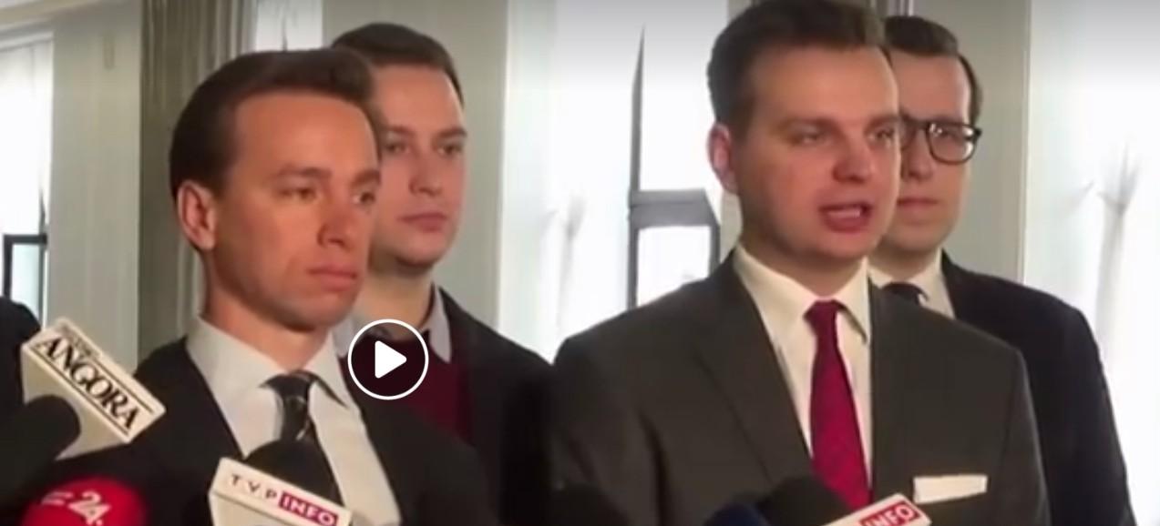 Krzysztof Bosak (Konfederacja) wzywa prezydenta Dudę do zawetowania trzech ustaw PiS!