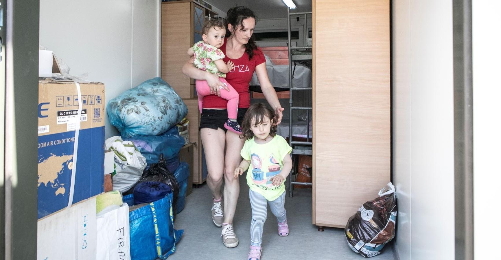 """Terytorialsi z Podkarpacia pomagają rodzinom z podtopionej """"Troi Północy"""""""
