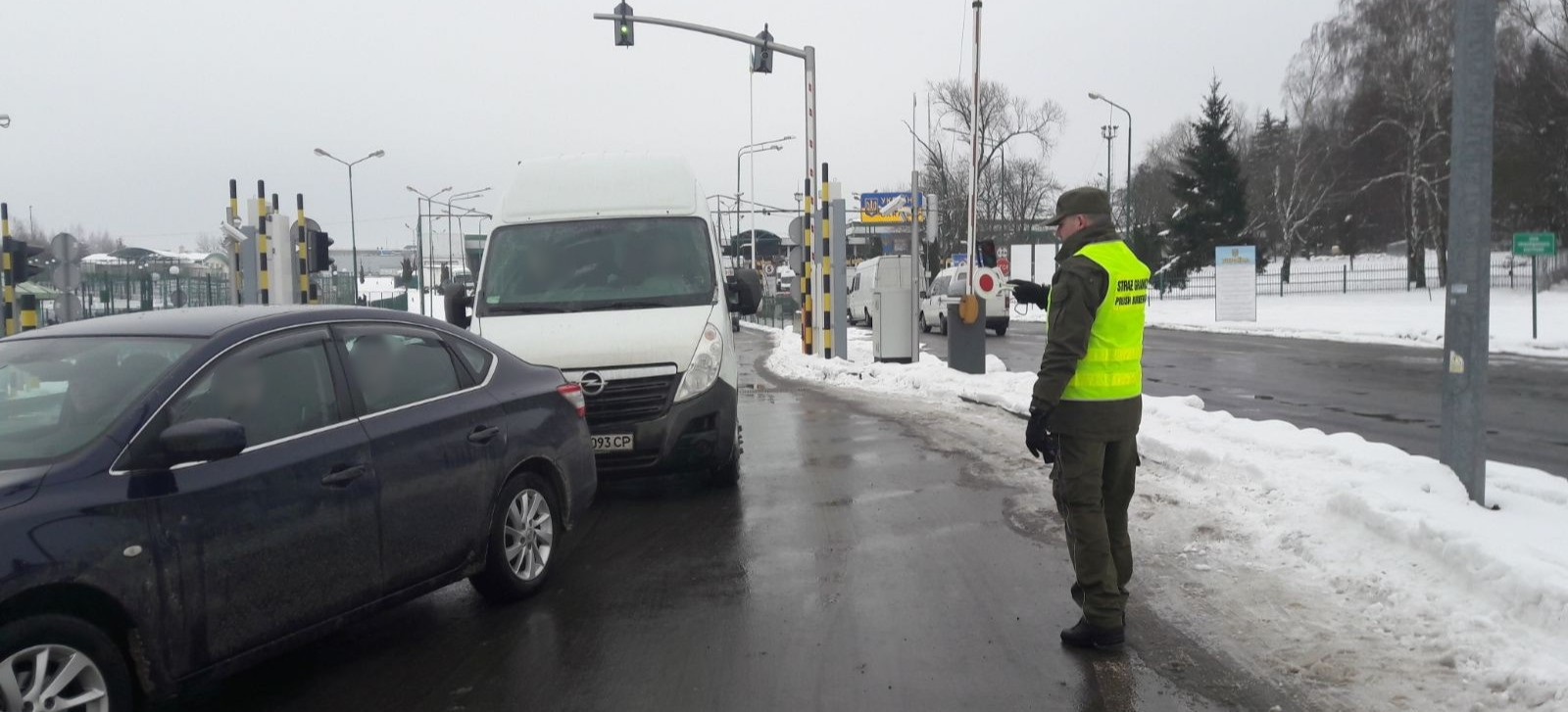 GRANICA: Wszystkie podkarpackie przejścia graniczne są przejezdne
