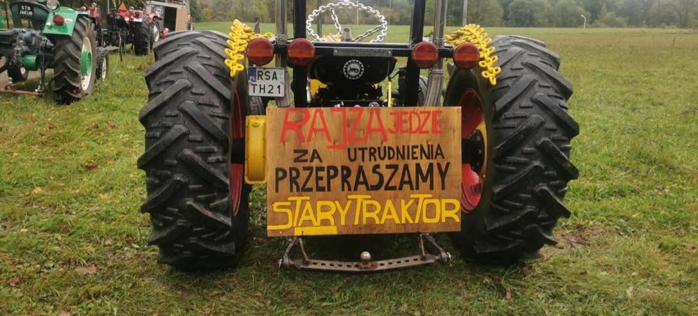 Trwa Bieszczadzka Rajza! Można zobaczyć 60-letnie zabytkowe traktory (ZDJĘCIA)