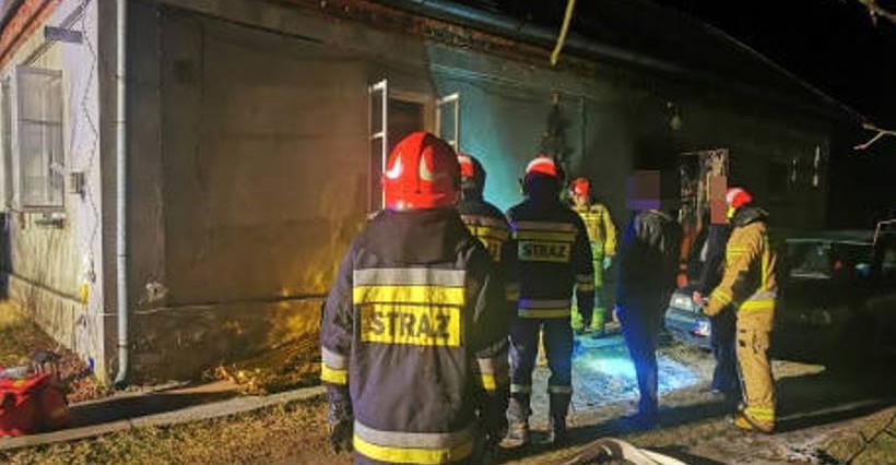 PODKARPACIE. Tragiczny pożar! Nie żyje 30-latek, 2-letnia dziewczynka została ranna! (FOTO)