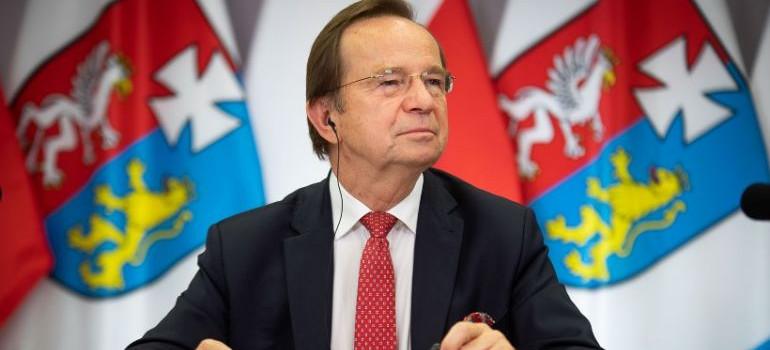 Marszałek Władysław Ortyl zarażony koronawirusem