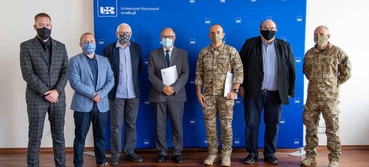 Współpraca pomiędzy Uniwersytetem Rzeszowskim i Jednostką Wojskową