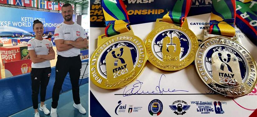 Mistrzostwa Świata w Kettlebell Sport. Rzeszowianie z trzema medalami i rekordem świata! (ZDJĘCIA)