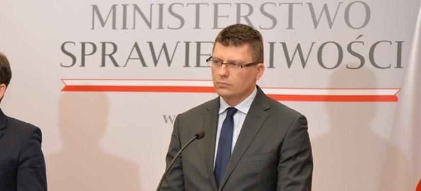 Marcin Warchoł zrzekł się funkcji wiceministra sprawiedliwości
