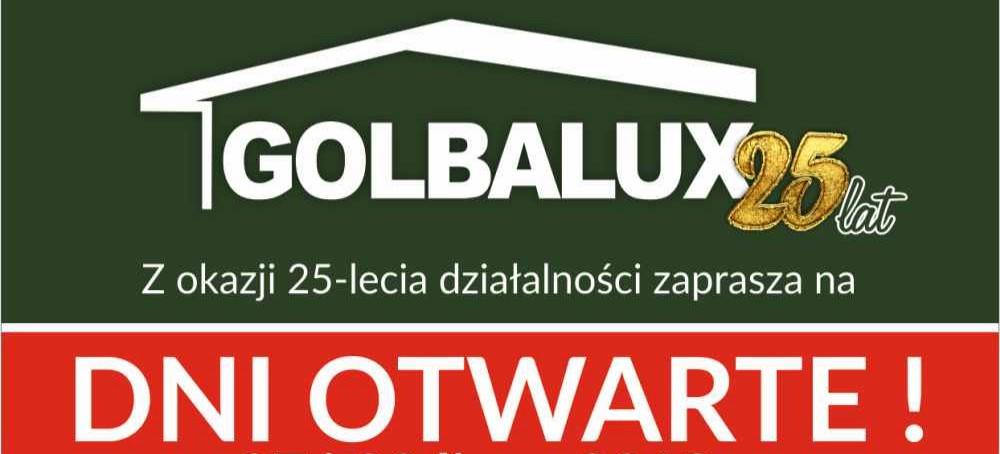 FABRYKA DOMÓW GOLBALUX. Zapraszamy na dni otwarte!