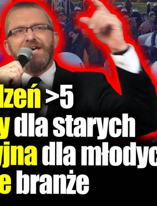 GRZEGORZ BRAUN: PiS wprowadza totalitaryzm! Zakaz zgromadzeń, areszt domowy, godzina policyjna dla młodych
