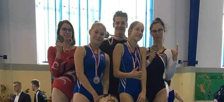 Rzeszowscy akrobaci z czterema medalami mistrzostw Polski!