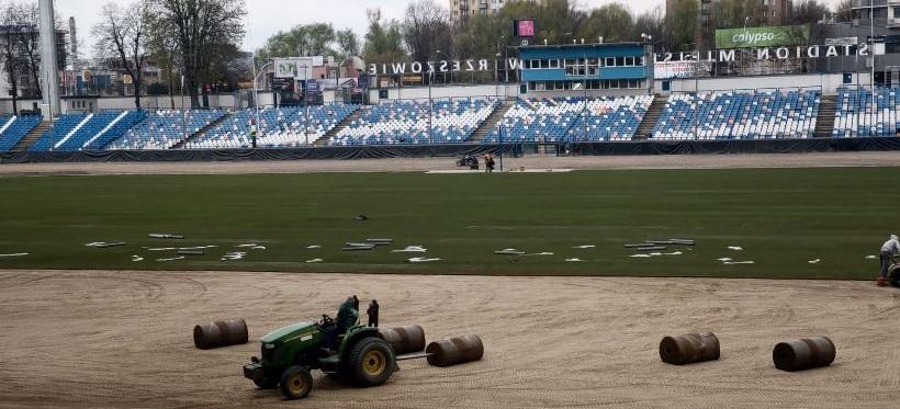 RZESZÓW. Dobiega końca przebudowa stadionu przy Hetmańskiej