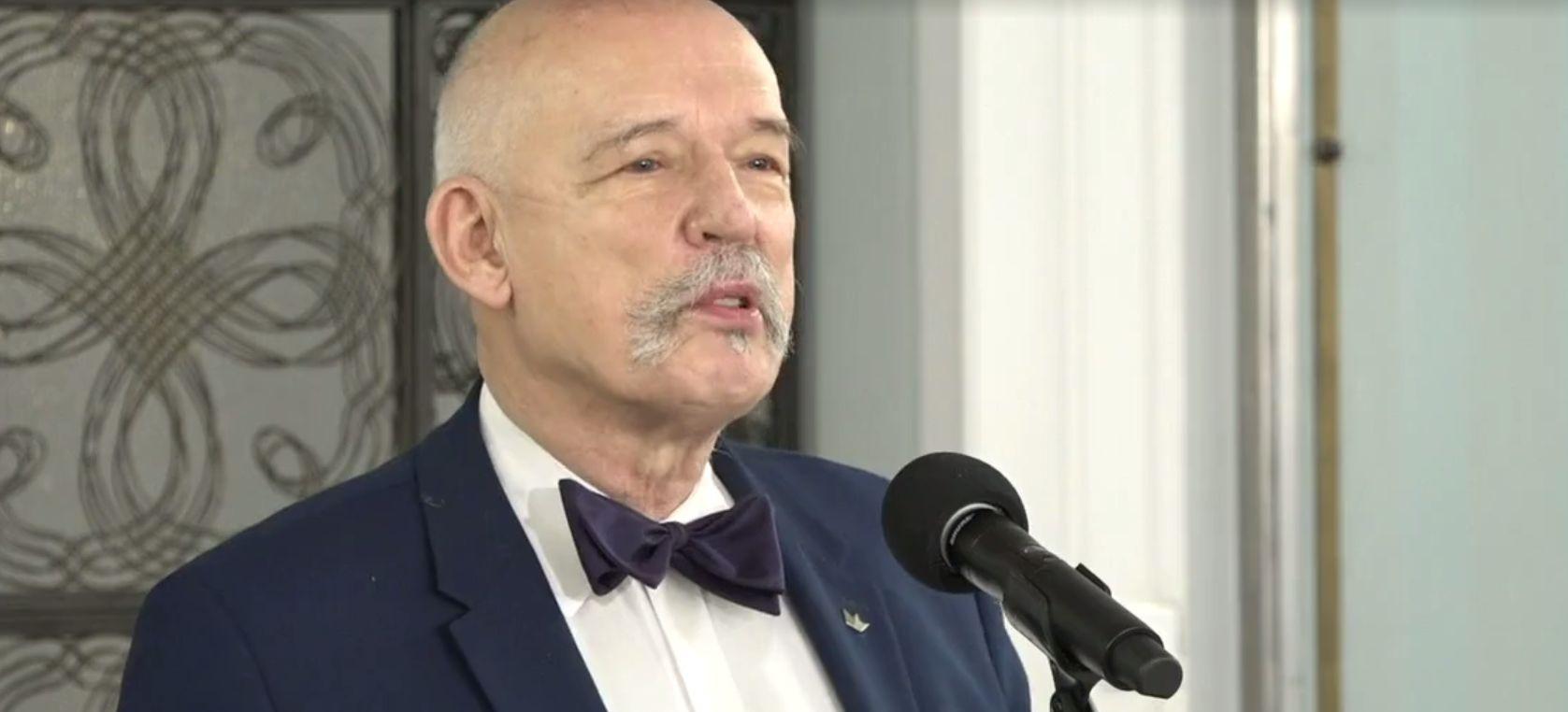 JANUSZ KORWIN-MIKKE: Polską rządzą ludzie, którzy nie mają pojęcia jak wygląda normalna gospodarka! (VIDEO)