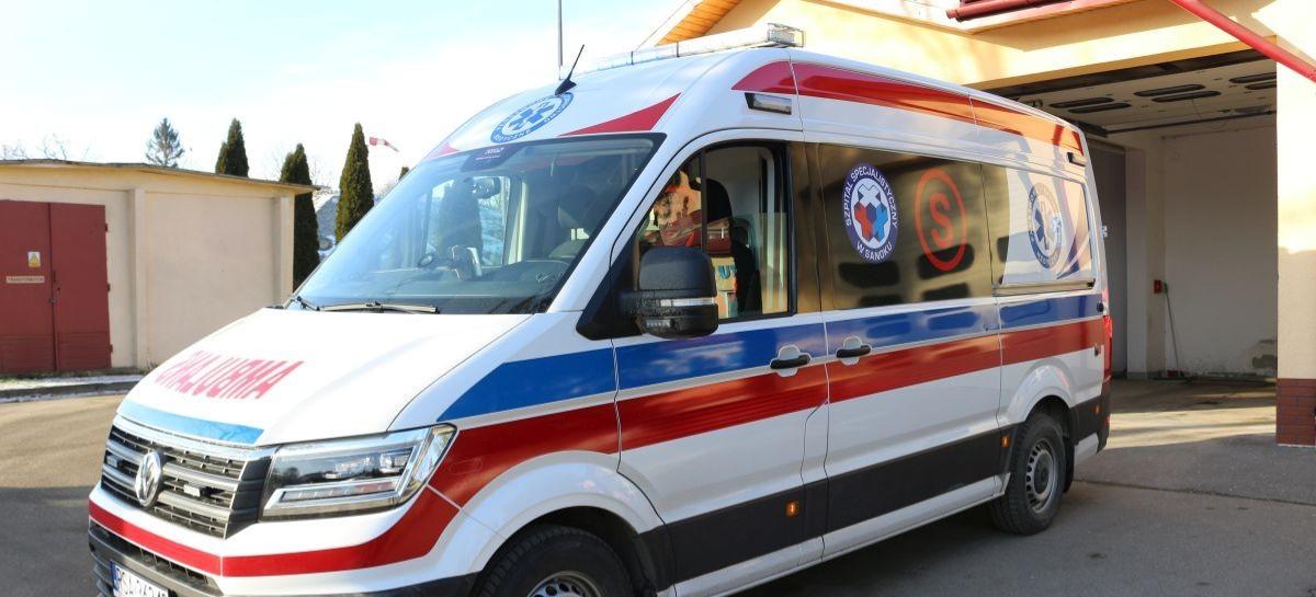 SANOK: PGNiG wspiera szpital. Ambulans transportowy i respiratory