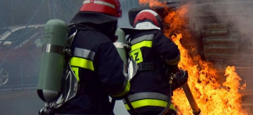 ZACZERNIE. Tragiczny pożar. Nie żyje 46-latek!