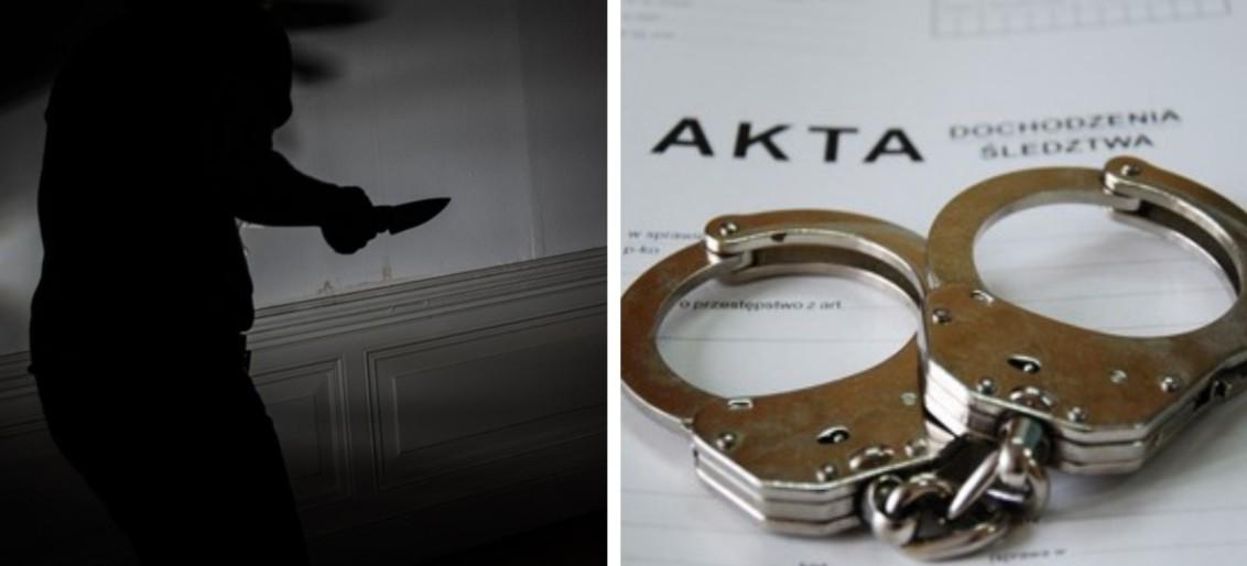 Zarzuty dla nożownika za usiłowania zabójstwa. Grozi mu nawet dożywocie