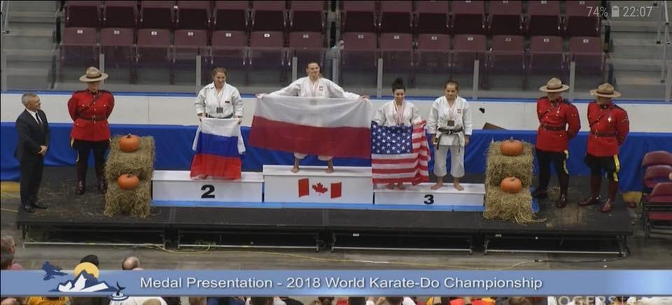 Rzeszowianka Mistrzynią Świata w karate!