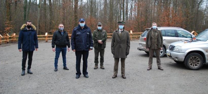 Otwarto miejsce postojowe między Głogowem Młp. a Wysoką Głogowską (FOTO)