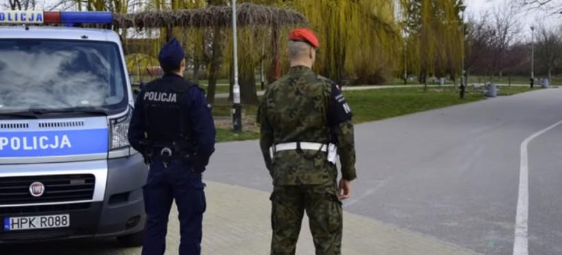 KORONAWIRUS. Policjanci patrolują rzeszowskie parki. W weekend ponad 30 zgłoszeń