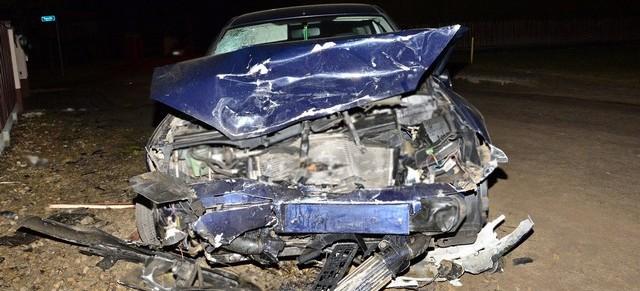 REGION: Pijany 22-letni kierowca sprawcą wypadku. Ucierpiały trzy osoby (ZDJĘCIA)