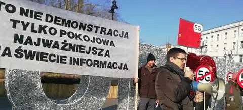 Nie dla 5G. Protest w Opolu! Podsumowanie akcji obrony populacji (VIDEO)