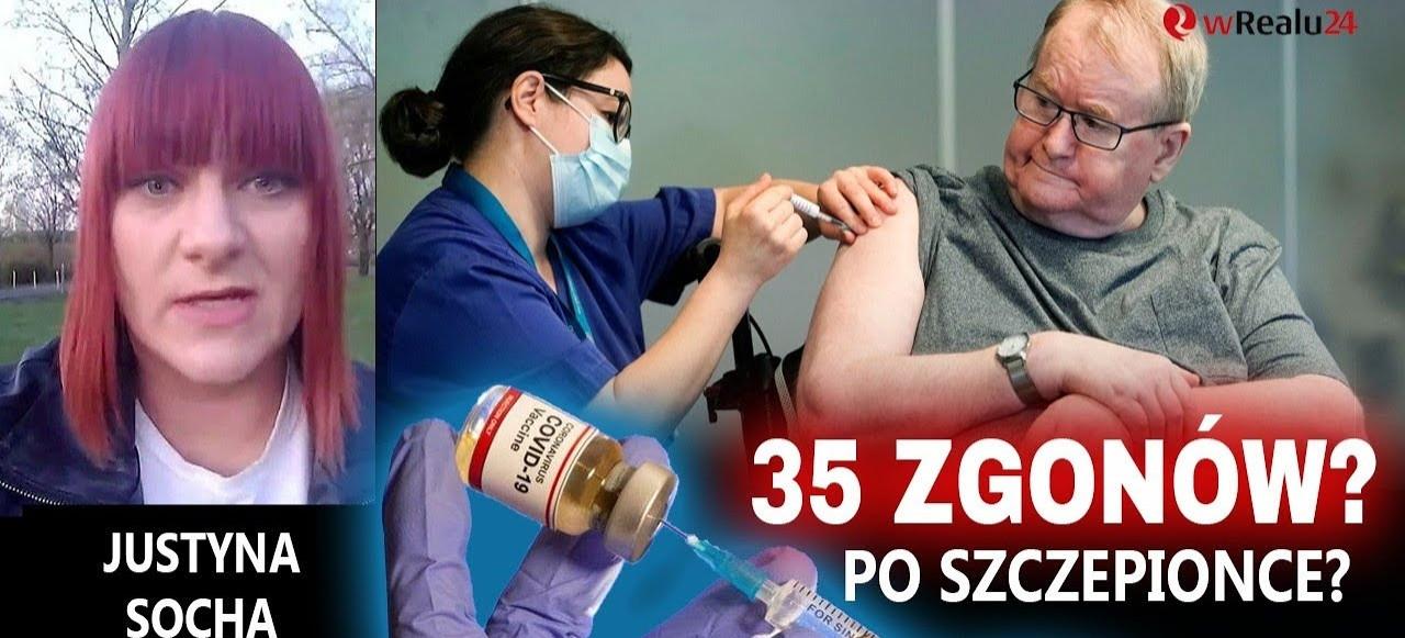 PILNE! 35 zgonów z powodu szczepionki? Czy mRNA zabija Polaków?