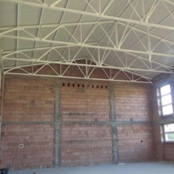 TURZE POLE: Trwa budowa sali gimnastycznej. Magistrat nie zapłacił jednak ostatniej faktury (VIDEO)