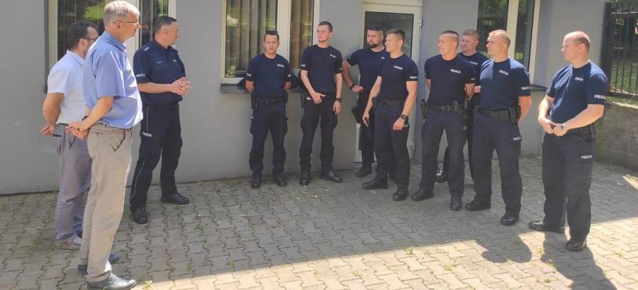 Policjanci z Rzeszowa rozpoczęli służbę w Bieszczadach
