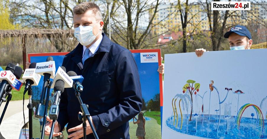 """Marcin Warchoł obiecuje park wodny na bulwarach. """"Trudne pytanie"""" od przedsiębiorcy z Podhala (VIDEO, ZDJĘCIA)"""
