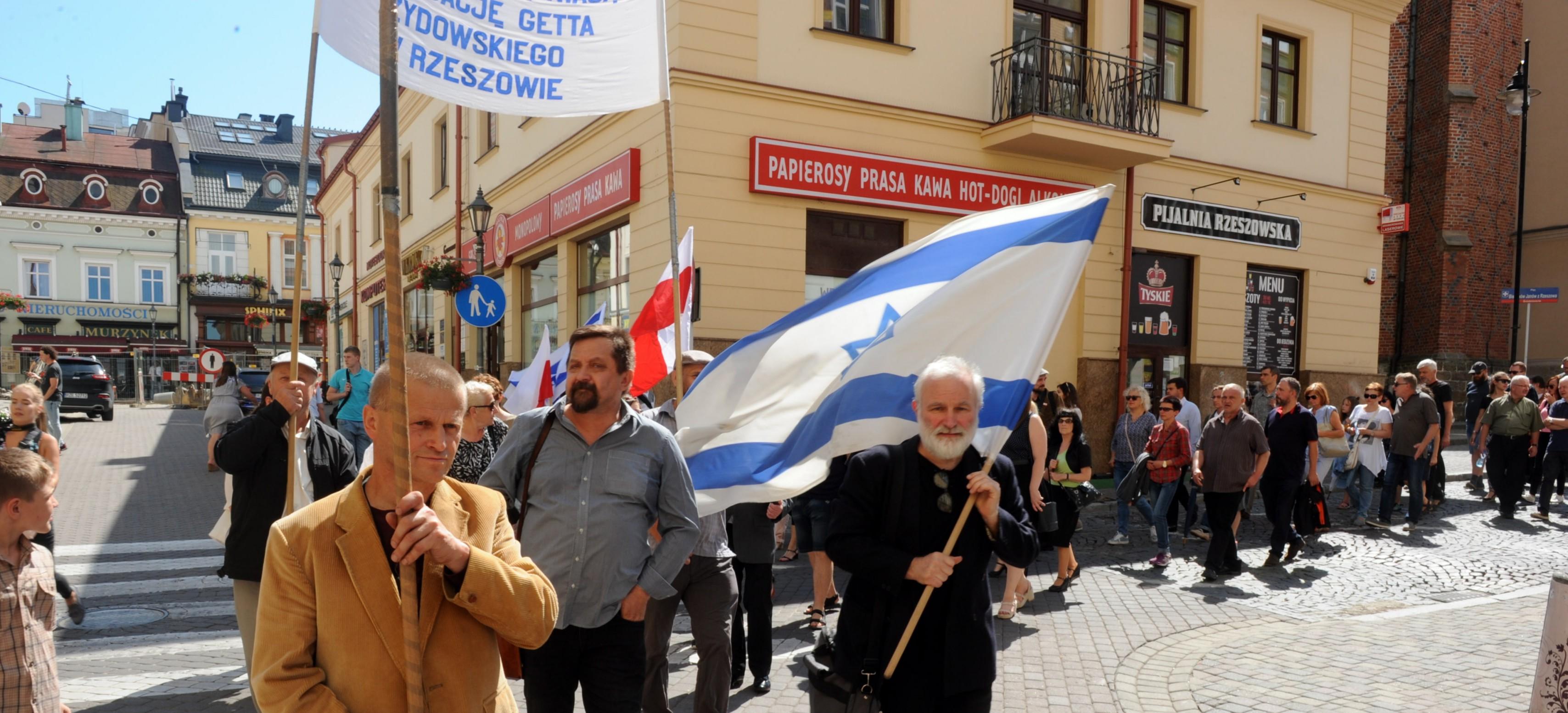 Ulicami Rzeszowa przeszedł Marsz Żywych (ZDJĘCIA)