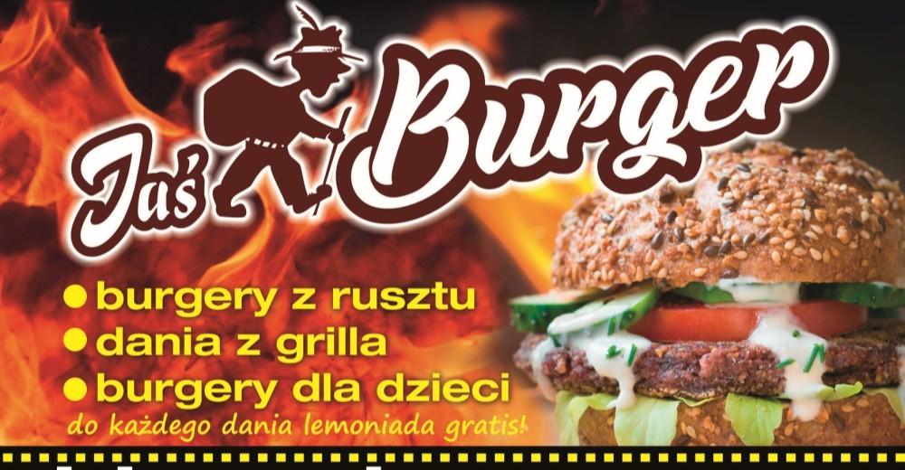 Otwarcie Jaś Burgera oraz atrakcji w postaci KINA PLENEROWEGO!