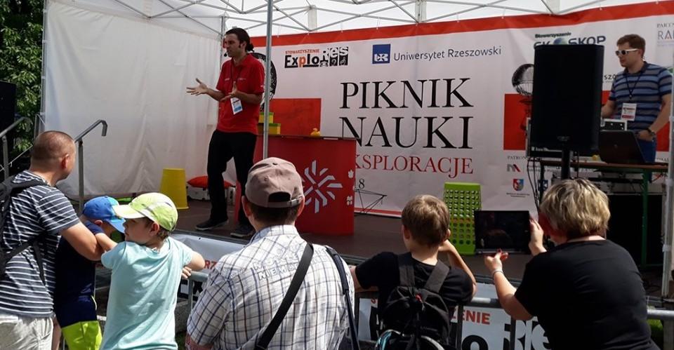 Piknik Nauki EKSPLORACJE już niebawem w Rzeszowie! (PROGRAM)