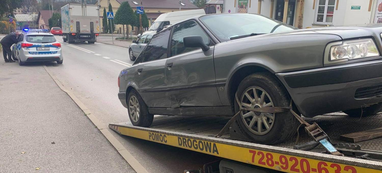 Policjant zderzył się z 27-latkiem jadącym pod prąd!