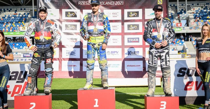 FIM Long Track World Championship: Smolinski najlepszy w Rzeszowie, Burza na podium (FOTO)
