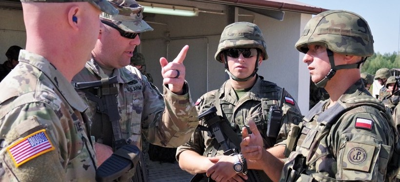 RZESZÓW. Wizyta żołnierzy Gwardii Narodowej USA w 3. PBOT (FOTO)