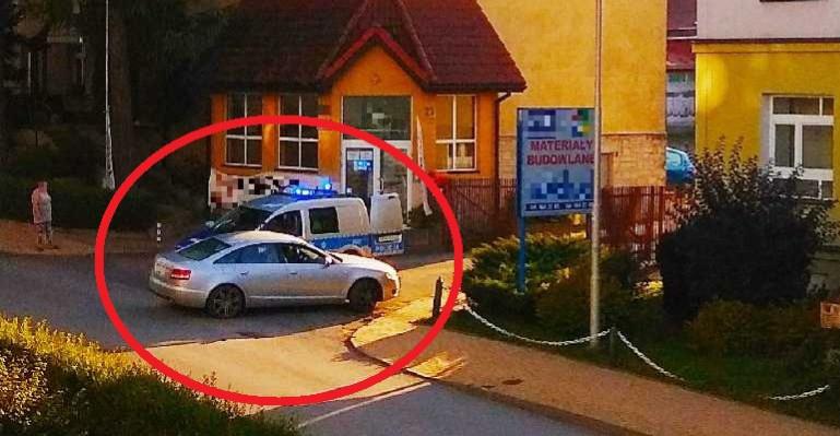 Pijany kierowca rzucał petardy z samochodu! (FOTO)