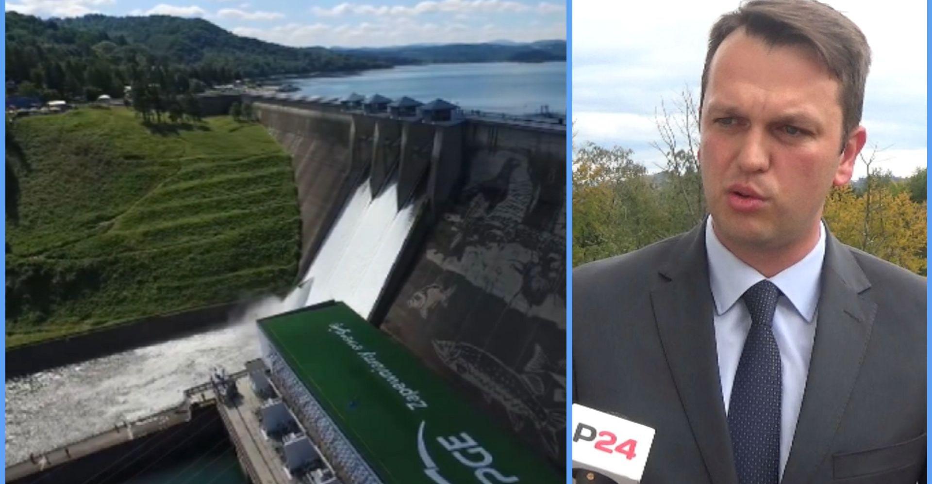 """Nie tylko elektrownia wodna, ale i fotowoltaika. """"To pieniądze dla gmin i mieszkańców"""" (VIDEO)"""