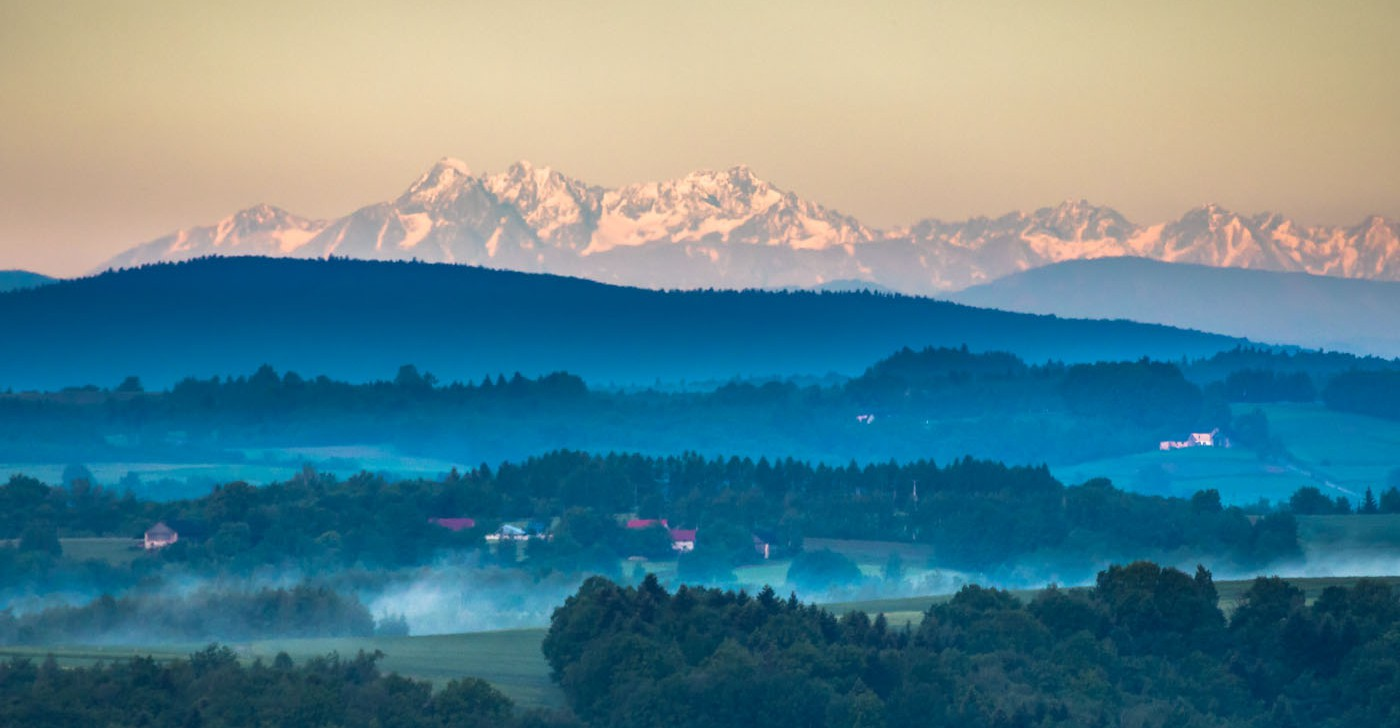 PODKARPACIE. Piękny widok na Tatry o poranku! (ZDJĘCIA)