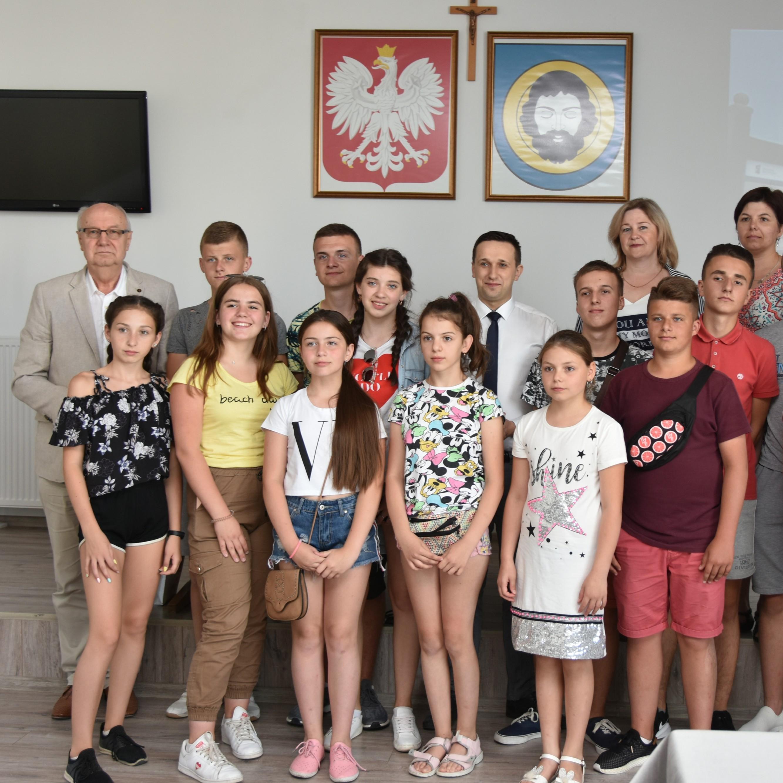 Dzieci z Sambora rozpoczęły letni wypoczynek