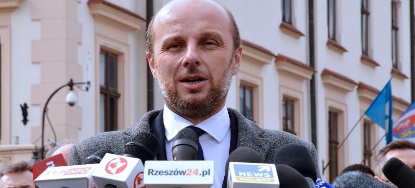 W poniedziałek zaprzysiężenie Konrada Fijołka na urząd prezydenta Rzeszowa
